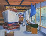 Handcrafted History by Kim VanDerHoek Oil ~ 16 x 20
