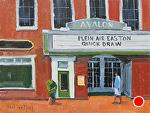 The Avalon by Kim VanDerHoek Oil ~ 9 x 12
