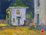 Night Dwelling by Kim VanDerHoek Oil ~ 9 x 12