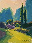 Garden Path by Kim VanDerHoek Oil ~ 8 x 6