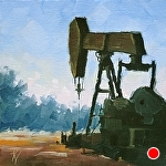 You're So Crude by Kim VanDerHoek Oil ~ 6 x 6