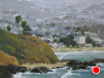 Classic Laguna by Kim VanDerHoek Oil ~ 9 x 12