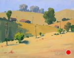 Hills Of Gold by Kim VanDerHoek Oil ~ 11 x 14