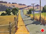 The Road Home by Kim VanDerHoek Oil ~ 6 x 8