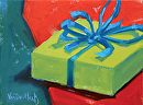 My Gift To You by Kim VanDerHoek Oil ~ 6 x 8
