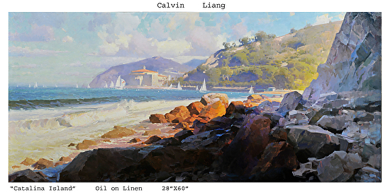 Catalina Island - Oil