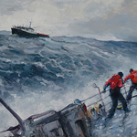 Kirk Larsen - COGAP! Coast guard Art Program