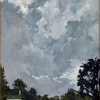 Stormy Monday-Saturday by Kirk Larsen Oil ~ 16 x 12