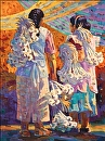 The Garlic Sellers by Beverly Wilson  ~  x