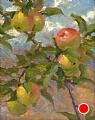 Summer Apples by Richard Christian Nelson Oil ~ 14 x 11