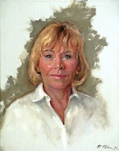 Lydia Smith by Richard Christian Nelson Oil ~ 20 x 16