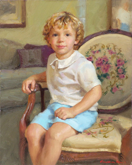 Carter by Richard Christian Nelson Oil ~ 30 x 24
