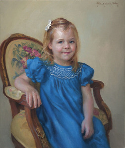 Claire by Richard Christian Nelson Oil ~ 30 x 24