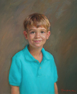 Henry by Richard Christian Nelson Oil ~ 24 x 20