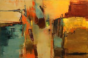 Rhythm, Line & Harmony by Karen Weihs Oil ~ 30 x 36