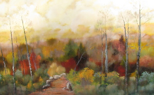 Gold Dust by Karen Weihs Oil ~ 30 x 45