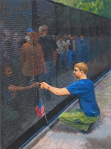 figurative paintings by Carolyn Hancock, Remembrance