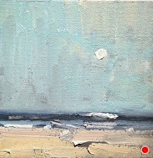 "Away by Jill Basham  ~ 6"" x 6"""