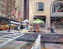 Manhattan Second by Jill Basham  ~ 24 x 30