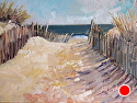 Beach Day by Jill Basham  ~ 12 x 16