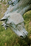 Invocation horse head by Buck McCain Bronze ~  x