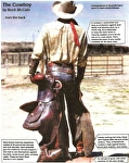 "Details of ""Cowboy"" by Buck McCain  ~  x"