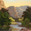Morning Light in Zion 18 x 24