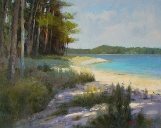 Wakulla Beach - Oil