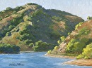 Nacimiento Lake Afternoon by Dotty Hawthorne Oil ~ 11 x 14