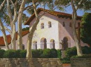 Mission San Luis Obispo by Dotty Hawthorne Original Pastel & Giclee Reproductions ~ 15 x 20.75