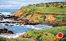 Cliff View from Bluff Trail by Dotty Hawthorne Pastel ~ 10.5 x 16 (image)