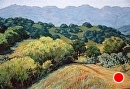 Pathway to Distant Hills by Dotty Hawthorne Pastel ~ 15 x 22.5 (image)