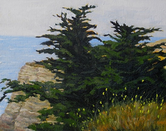 Coastal Cousins - Oil