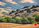 Resevoir Canyon Morning by Dotty Hawthorne Pastel ~ 18.5 x 22.5