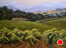 Starr Ranch Vista by Dotty Hawthorne Pastel ~ 25 x 31
