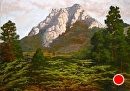 Hollister Peak View by Dotty Hawthorne Pastel ~ 13 x 19