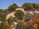 Cliffside by Dotty Hawthorne Pastel ~ 11.5 x 15.5 (image)
