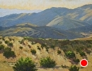 Toward Evening in Chimineas Ranch Hills by Dotty Hawthorne Oil ~ 11 x 14