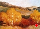 Autumn's Glow by Dotty Hawthorne Oil ~ 9 x 12