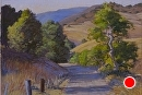 Johnson Ranch Shadows by Dotty Hawthorne Pastel ~  x