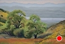 Soda Lake View by Dotty Hawthorne Pastel ~ 11 x 16