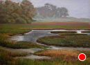 Low Tide by Dotty Hawthorne Pastel ~ 15 x 21