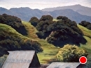 Guidetti Ranch Hills by Dotty Hawthorne Pastel ~ 17 x 23 (image)