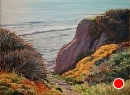 Pathway to the Coast by Dotty Hawthorne Pastel ~ 11 x 15