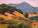 Avila Valley Afternoon by Dotty Hawthorne Oil ~ 12 x 16