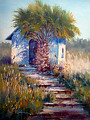 DUNES CHAPEL -Port A by Tina Bohlman Oil ~ 12 x 9