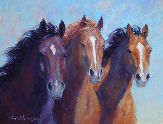 Three Musketeers - Pastel