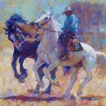 Trish Stevenson - Miles City Bucking Horse Sale Quick Draw