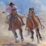 Trish Stevenson - Stampede Invitational Western Art Show