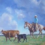 Trish Stevenson - America's Horse in Art Show